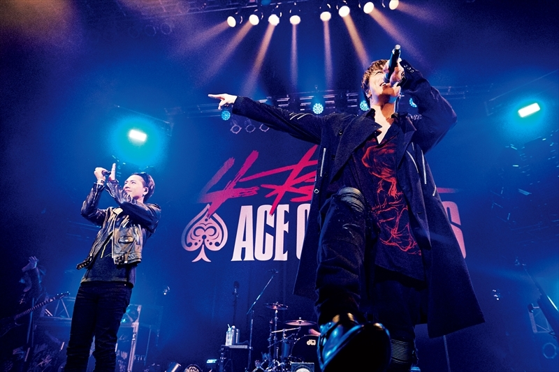 ACE OF SPADES、登坂広臣