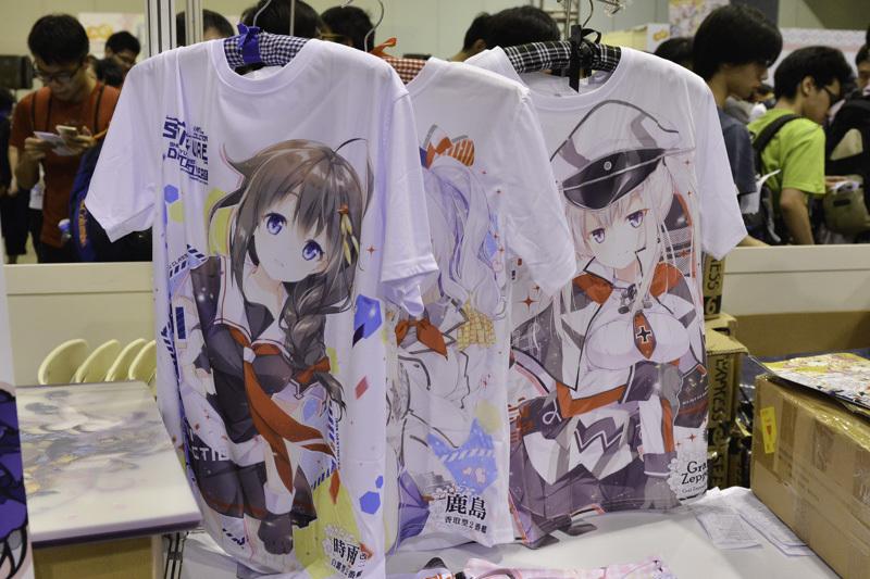 サークル「風林火山(Nature Four)」の『艦これ』のTシャツ。お好みの艦娘Tシャツをゲットできます