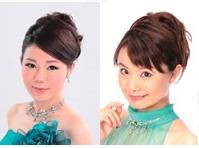 ピアノ 百瀬愛莉(左)/お話 おおはたれいこ(右)