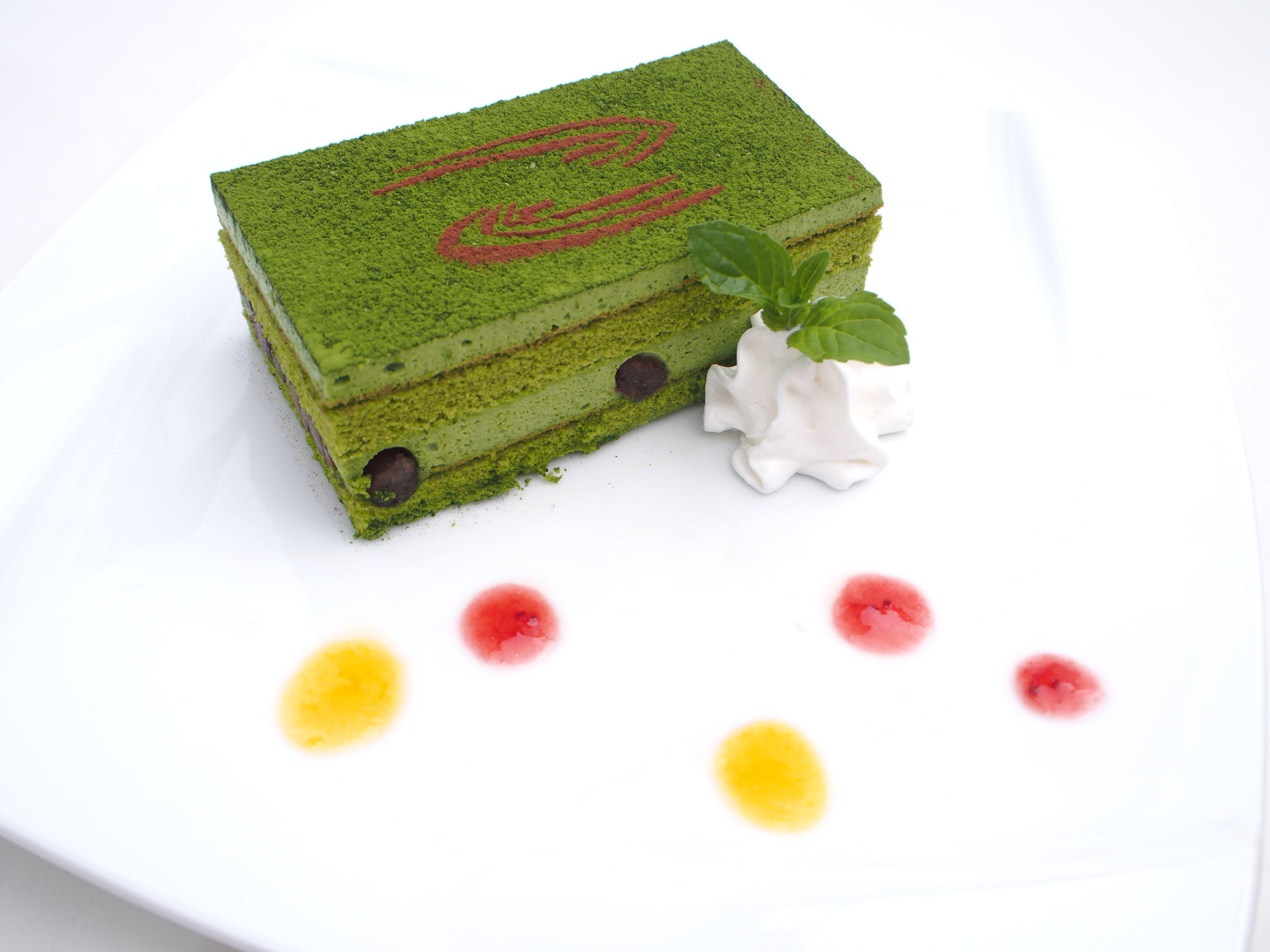 永倉新八の 真面目な抹茶ケーキ