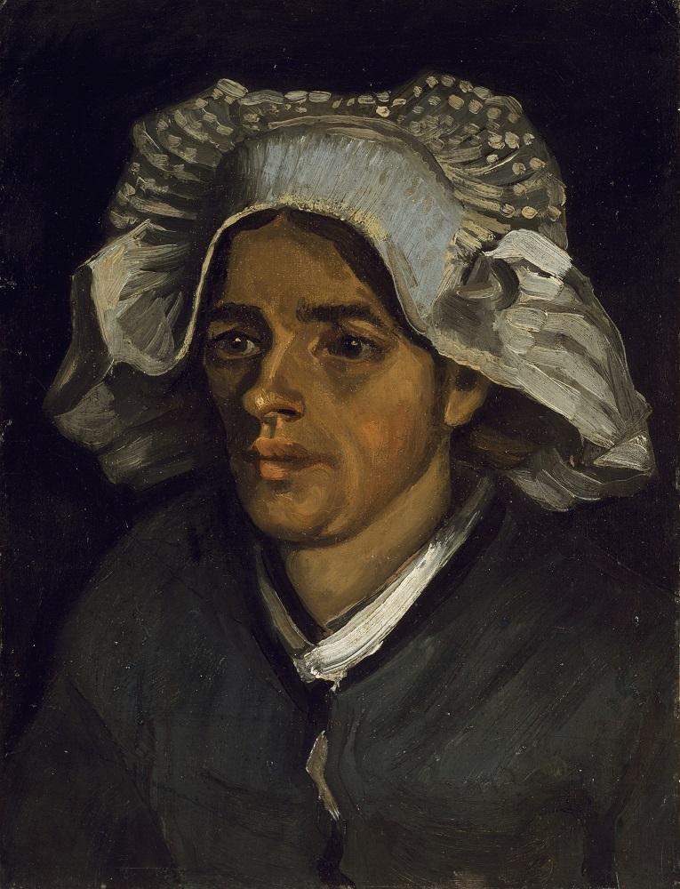 フィンセント・ファン・ゴッホ《農婦の頭部》 1885年 油彩、カンヴァス 46.4×35.3cm スコットランド・ナショナル・ギャラリー (C) National Galleries of Scotland, photography by A Reeve