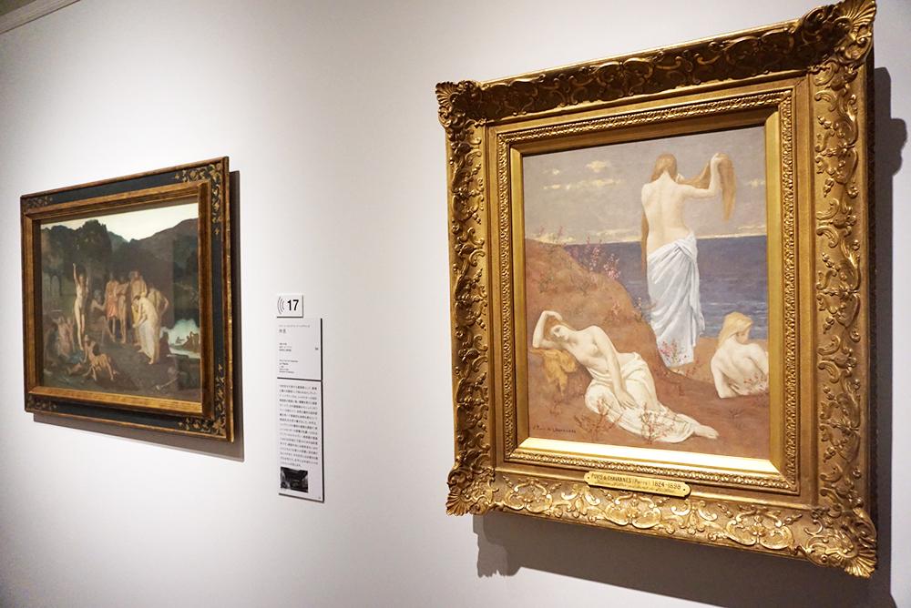 ピエール・ピュヴィス・ド・シャヴァンヌ <海辺の娘たち> 1879 年頃 パリ、オルセー美術館