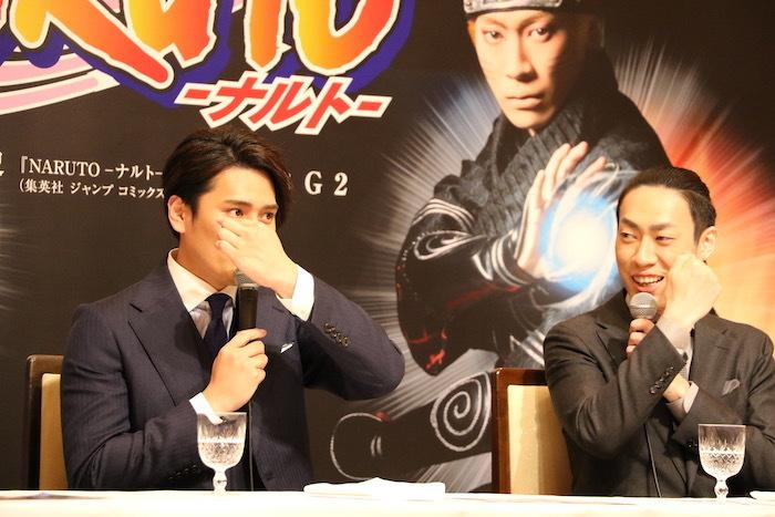(左から)中村隼人、坂東巳之助