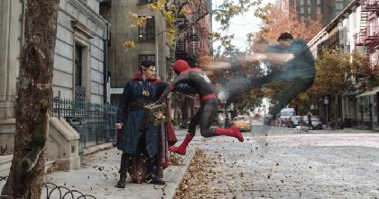 『スパイダーマン』最新作はマルチバースが舞台 『スパイダーマン:ノー・ウェイ・ホーム』ドック・オクらも登場する初映像を公開