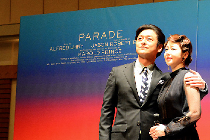 追いつめられる石丸幹二、堀内敬子と17年ぶりの共演に「夢のよう」、ミュージカル『パレード』製作発表会見レポート
