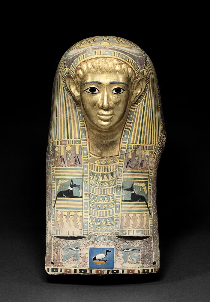 《パレメチュシグのミイラ・マスク》後50~後100年頃  (C)Staatliche Museen zu Berlin, Ägyptisches Museum und Papyrussammlung Berlin / M. Büsing