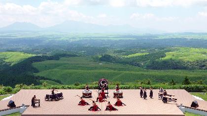 DRUM TAO、2020年9月にオープンした『野外劇場 TAOの丘 BEST LIVE』が配信開始