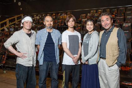 森新太郎演出の『怪談 牡丹燈籠』が14日から開幕。主演の柳下大からコメントが到着!