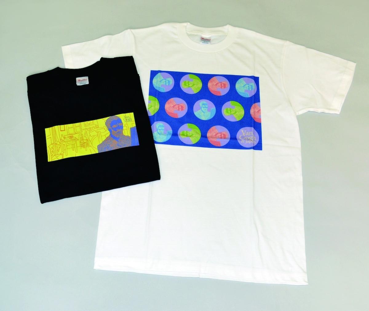『ゴッホ展 巡りゆく日本の夢』 Tシャツ(全4サイズ)/各¥3,200