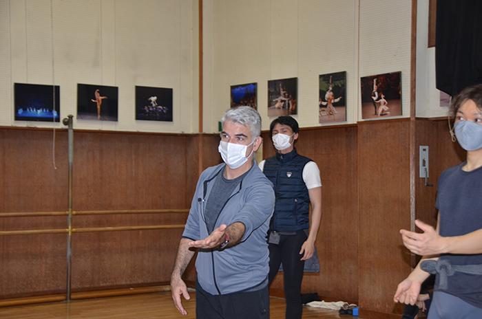 京都バレエ団公演『眠れる森の美女』リハーサル