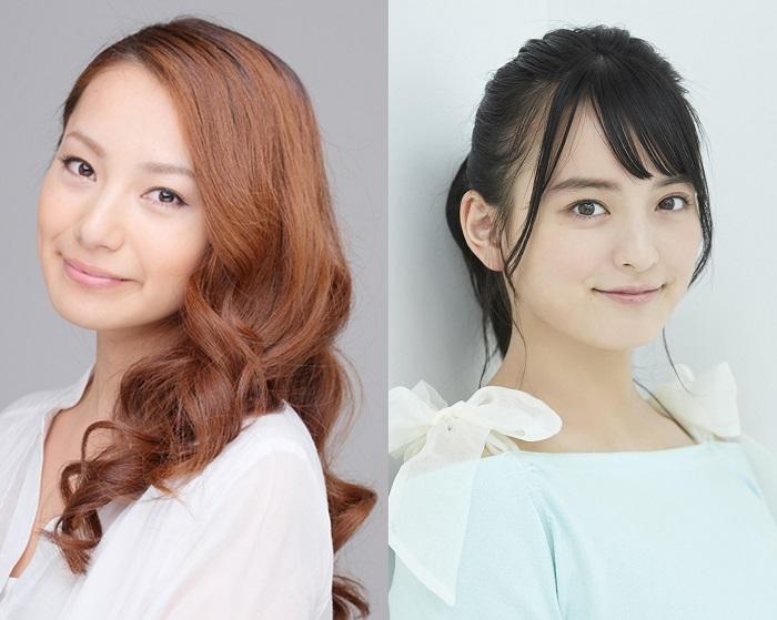 (左から)三船美佳 清井咲希