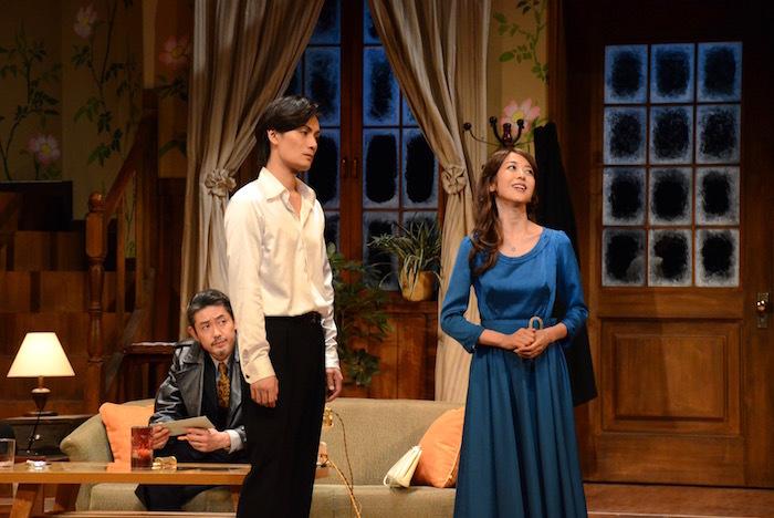 舞台『罠』のゲネプロの様子