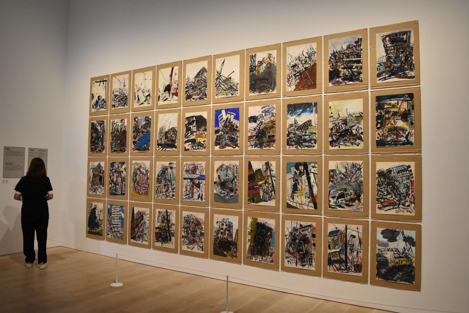 「震災風景」シリーズより 堀尾貞治 1995年 芦屋市立美術博物館蔵