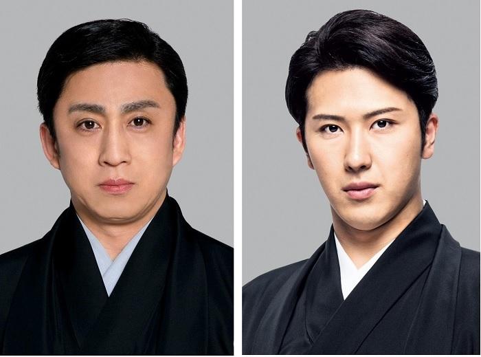(左から)松本幸四郎、尾上松也 /(C)松竹