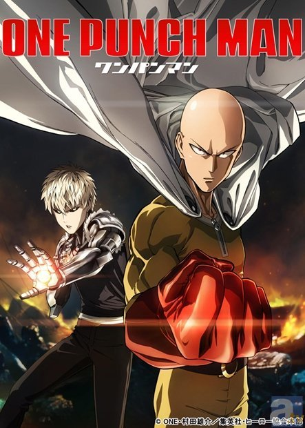 TVアニメ『ワンパンマン』新キャスト&主題歌アーティストが発表!