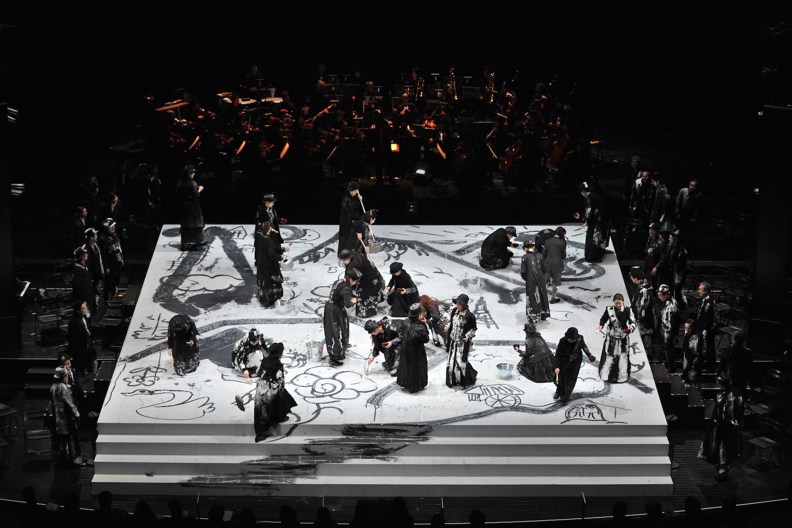まつもと市民オペラ『魔笛』 撮影:山田毅