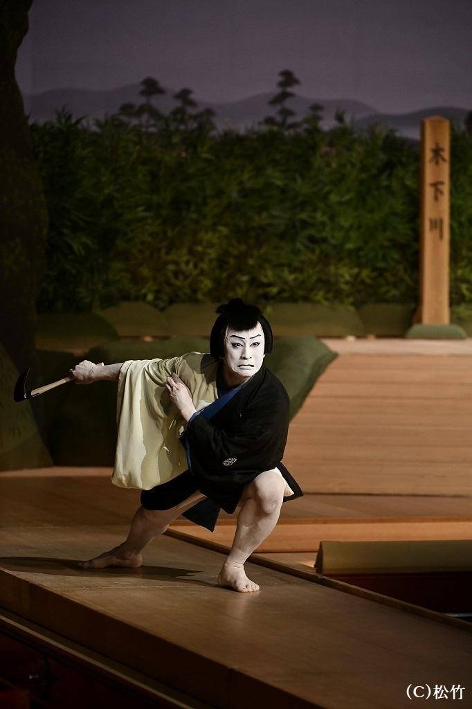 『かさね』与右衛門=松本幸四郎(令和2年9月歌舞伎座)