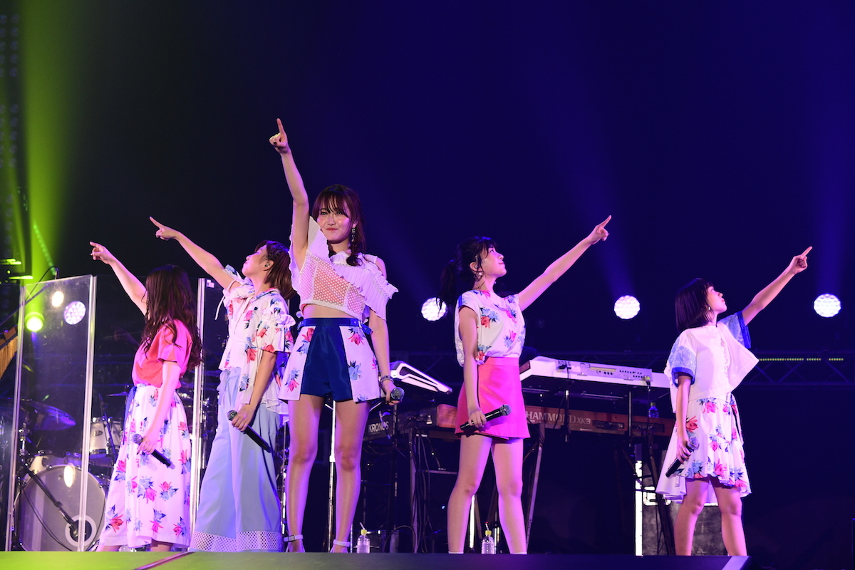 Little Glee Monster  ©テレビ朝日 ドリームフェスティバル 2018 / 写真:岸田哲平
