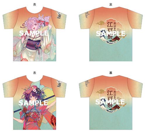 フルグラフィックTシャツ FGOコラボキービジュアル (C)TYPE-MOON / FGO PROJECT