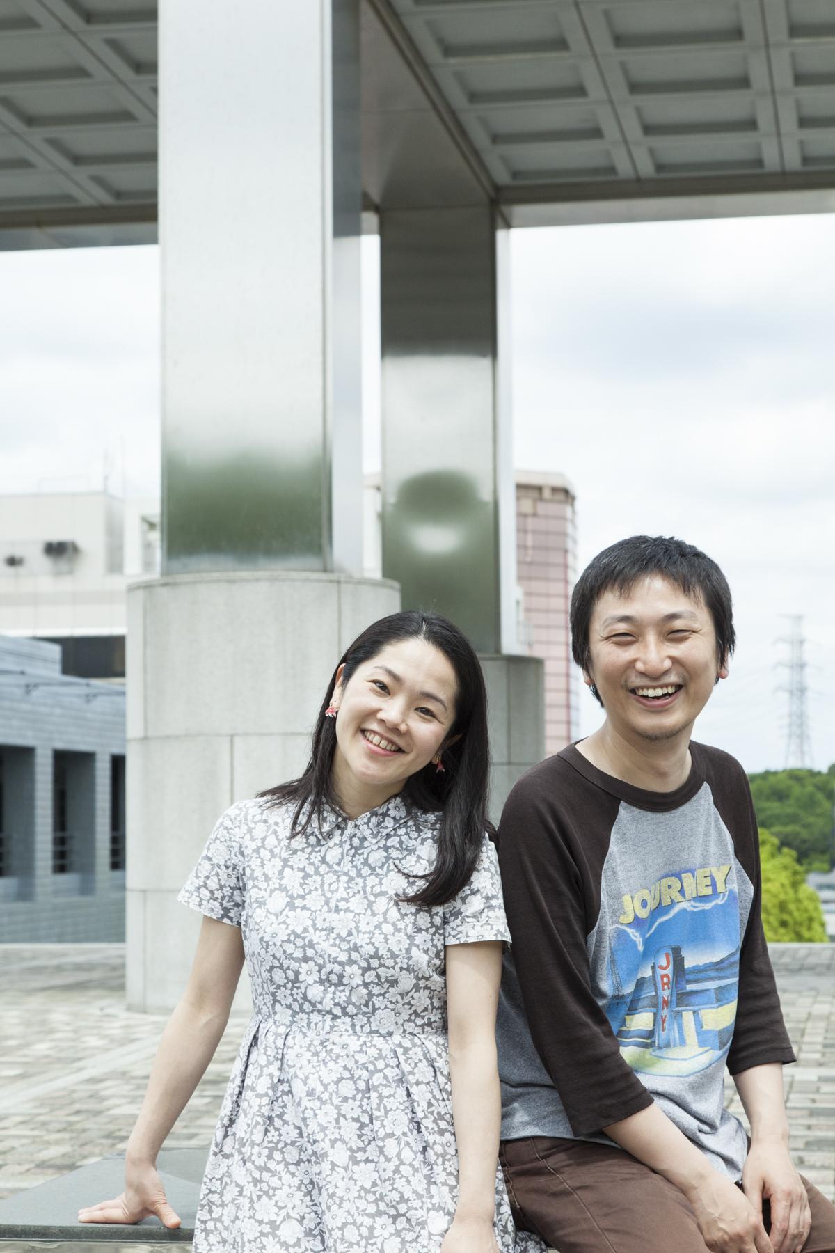 FUKAIPRODUCE 羽衣の深井順子(左)、糸井幸之介(右)