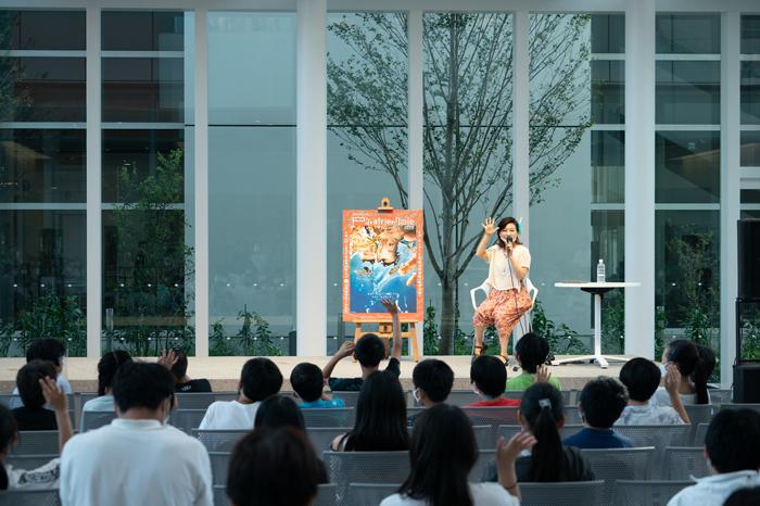 公開授業の様子 撮影:加藤甫