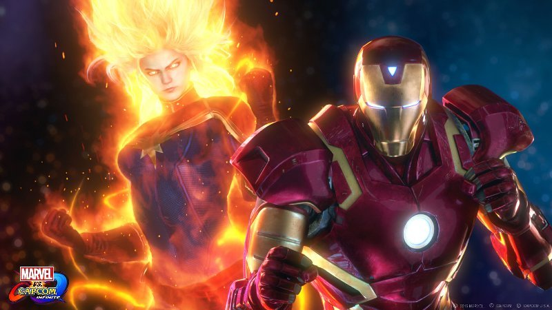 対するはアイアンマンとキャプテン・マーブル