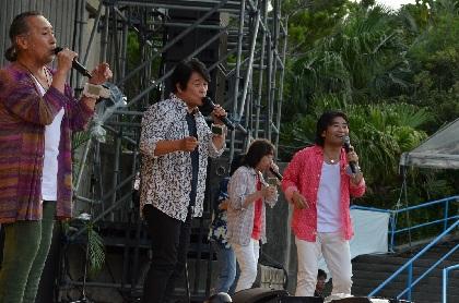 スターダスト☆レビュー、根本要(G.Vo)が本格復帰 野外ライブツアー『楽園音楽祭2018』が開幕