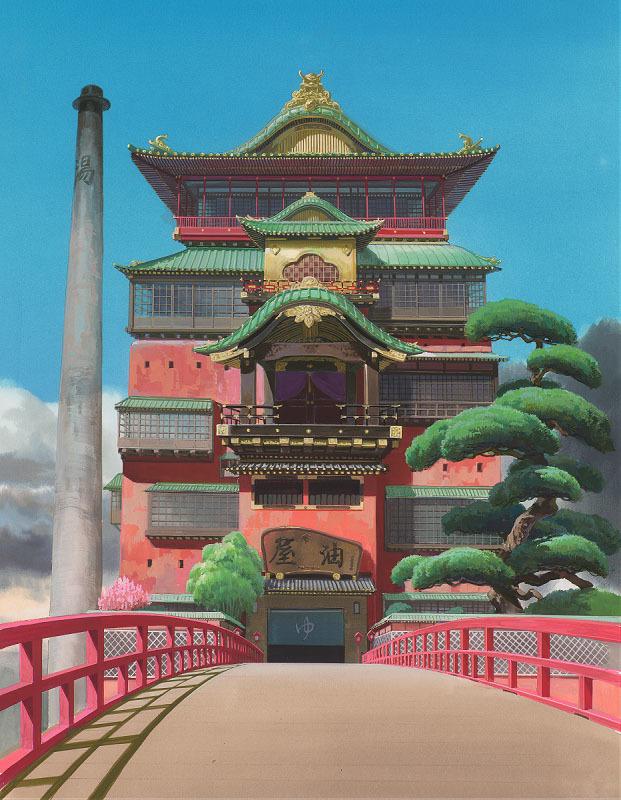 千と千尋の神隠し © 2001 Studio Ghibli・NDDTM