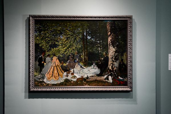 クロード・モネ 《草上の昼食》 1866年 (C)The Pushkin State Museum of Fine Arts, Moscow