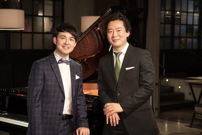 (左から)マシュー・ロー、鈴木隆太郎