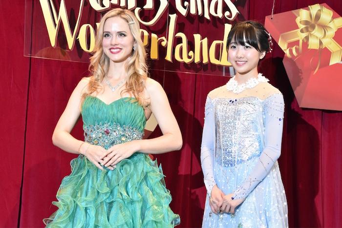 (左から)ナタリー・エモンズ、本田望結