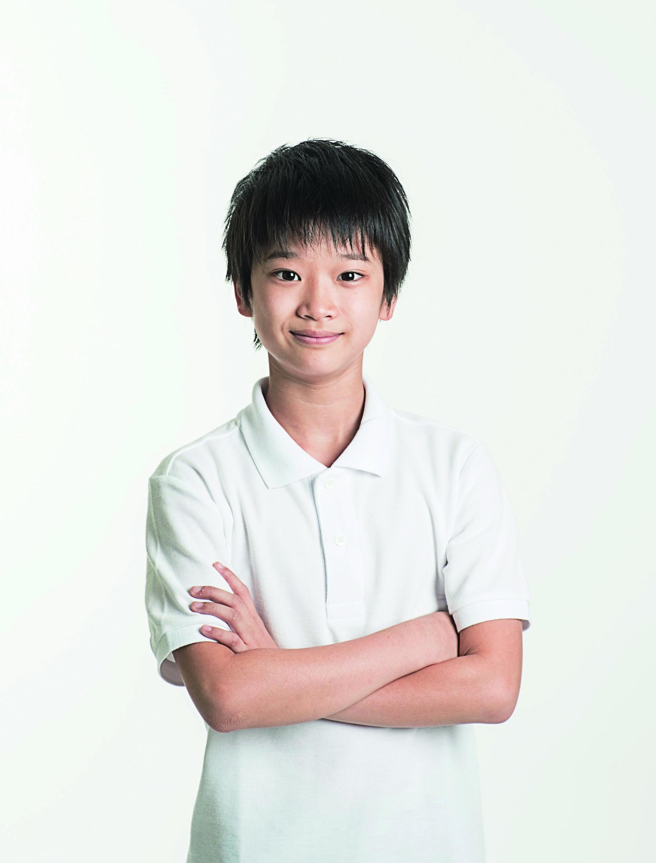 山城力(やましろ・りき)東京出身 11歳(開幕後まずはトールボーイ役として出演し、8/20(日)よりビリー役として出演)