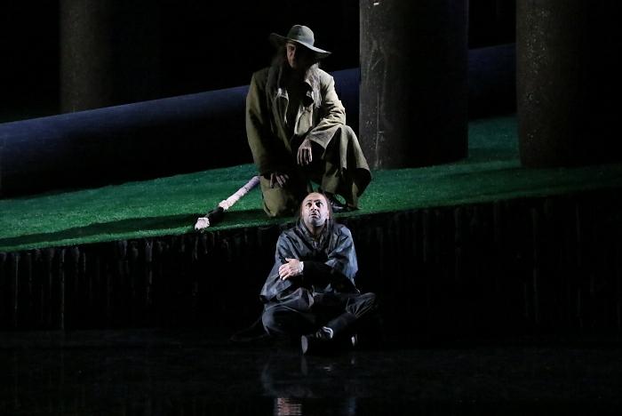 新国立劇場オペラ『ジークフリート』ゲネプロより さすらい人、アルベルヒ