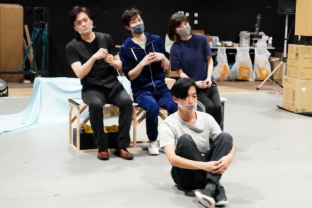 『ハルシオン・デイズ2020』稽古場写真 撮影:田中亜紀