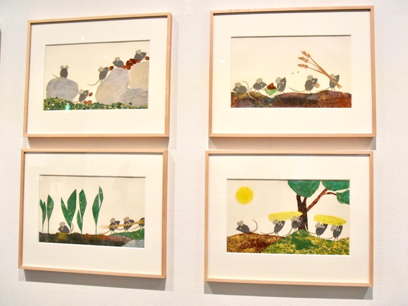 『フレデリック』原画 1967年 アニー・レオーニ氏所蔵