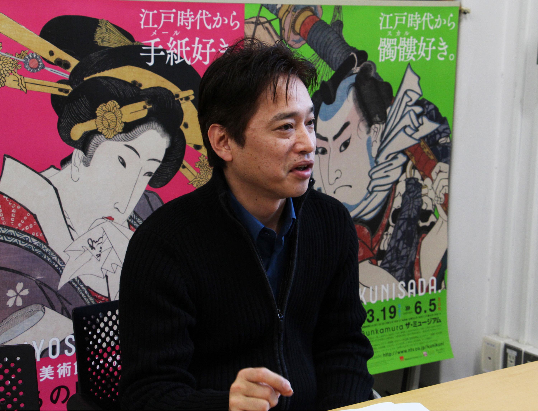 東京国立博物館 研究員 松嶋雅人/撮影=山岡美香