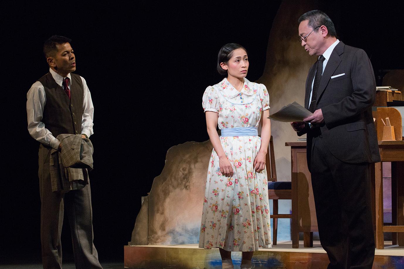 前進座公演『ちひろ-私、絵と結婚するの-』