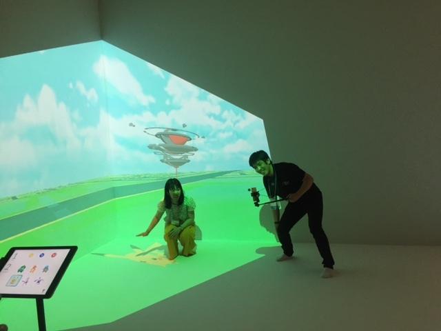 「Pokémon GO 相棒ポケモンと記念撮影!」のコーナー
