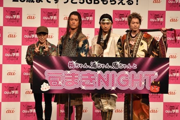 左からAI、桐谷健太、松田翔太、菅田将暉。