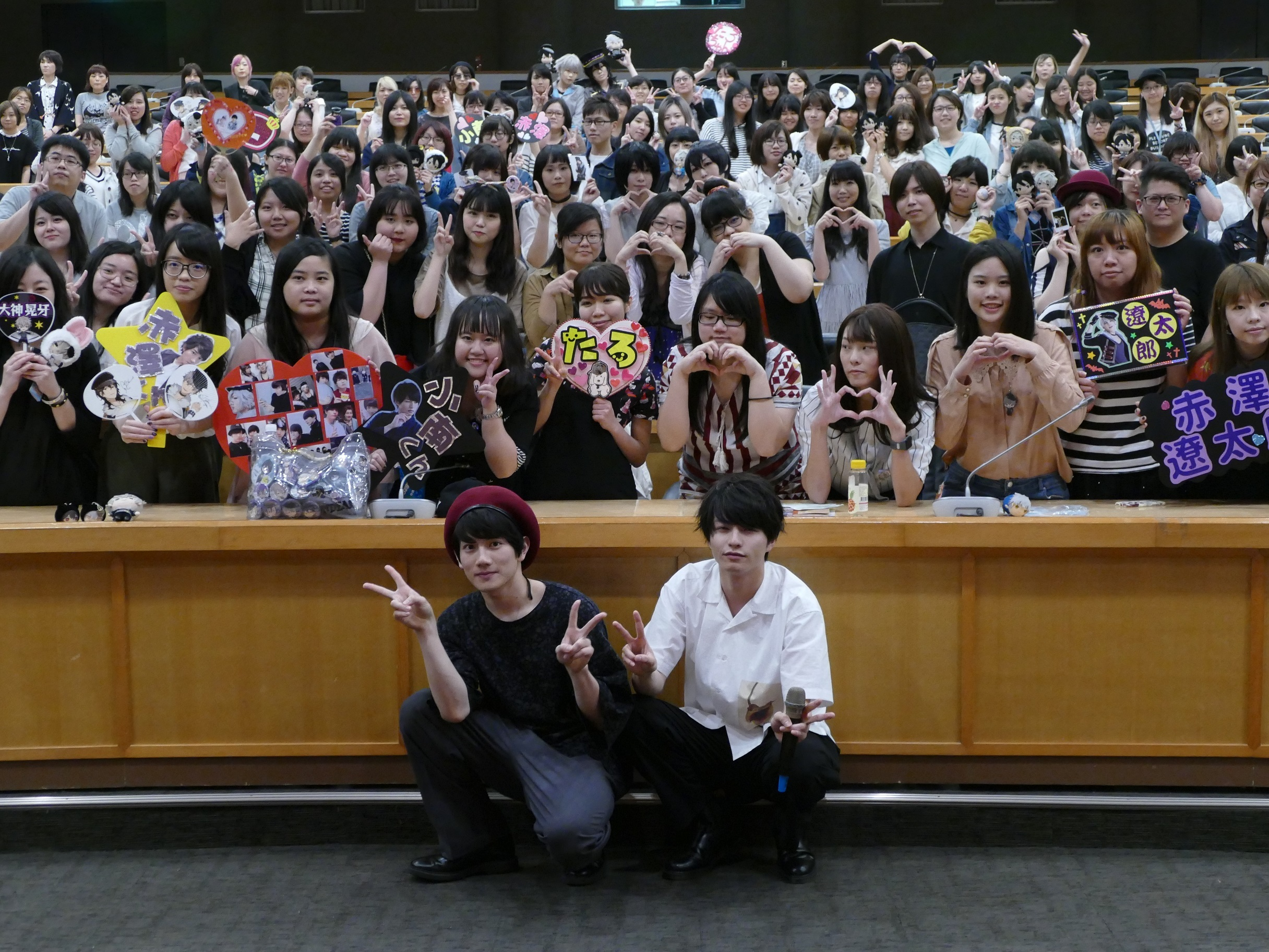 (写真左から)赤澤遼太郎、小南光司