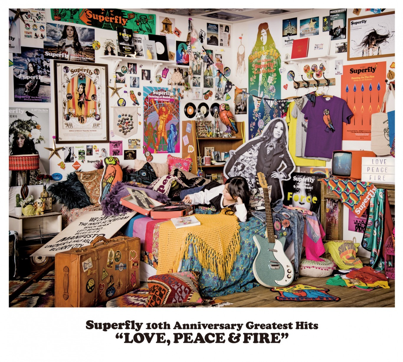 Superfly『LOVE, PEACE & FIRE』通常盤