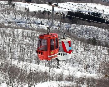 岐阜の高鷲スキー場にウルトラマンがやってくる