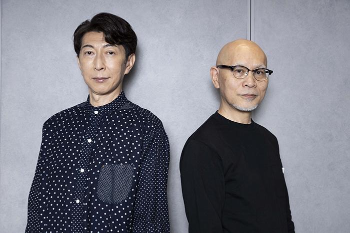 (左から)篠井英介、鈴木勝秀