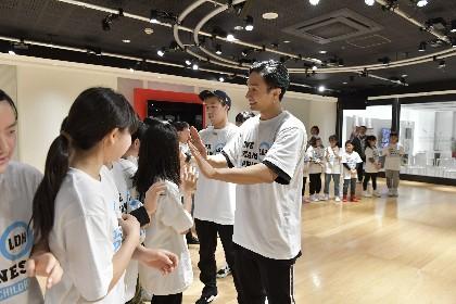 東日本大震災から7年 EXILE橘ケンチ、世界らが宮城県・仙台市で子どもたちにダンスレッスン「ダンスは人と人を繋げる力がある」
