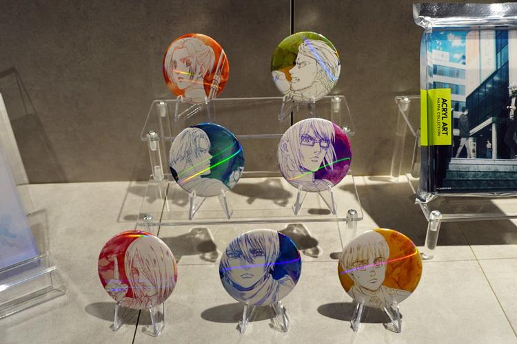 缶バッジコレクション 進撃の巨人 The Final Season(全7種)