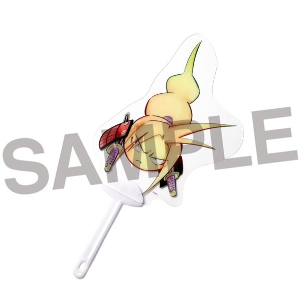 【商品名】ヒトダマうちわ 阿弥陀丸【価格】660円(税込)【サイズ】約20×14cm