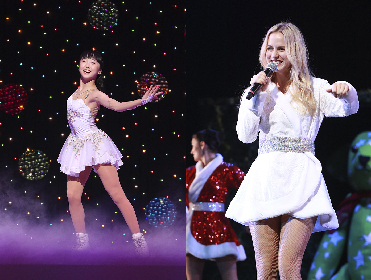 本田望結&ナタリー・エモンズが『ブロードウェイ クリスマス・ワンダーランド2018』に今年も出演 最高に楽しくてハッピーな体験を劇場で