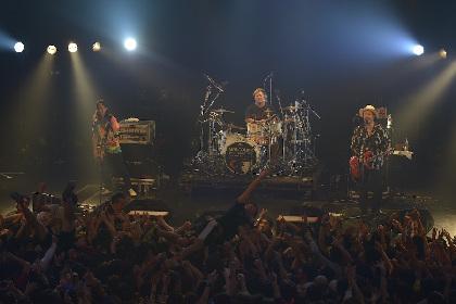 """経験と成熟を経て帰ってきた""""明るく楽しい""""モンパチ 東京公演でみせた過去最高のステージ"""
