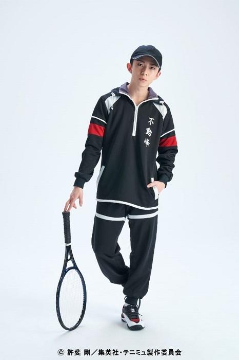 内村京介役:菊池颯人 (C)許斐 剛/集英社・テニミュ製作委員会