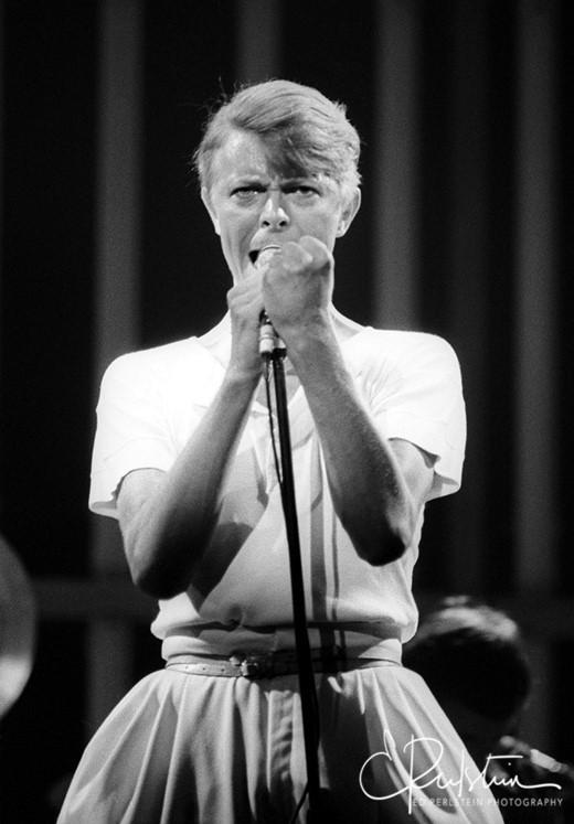 David Bowie: Photo by Ed Perlstein